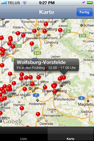 Verkaufsoffene Sonntage Apps Karte
