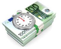 �ffnungszeiten erg�nzen und Geld verdienen Grafik