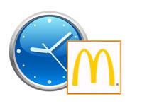 Öffnungszeiten McDonald's