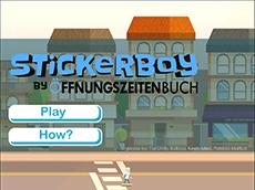 Stickerboy by Öffnungszeitebuch