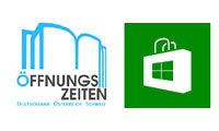 �ffnungszeiten App f�r Windows Phone