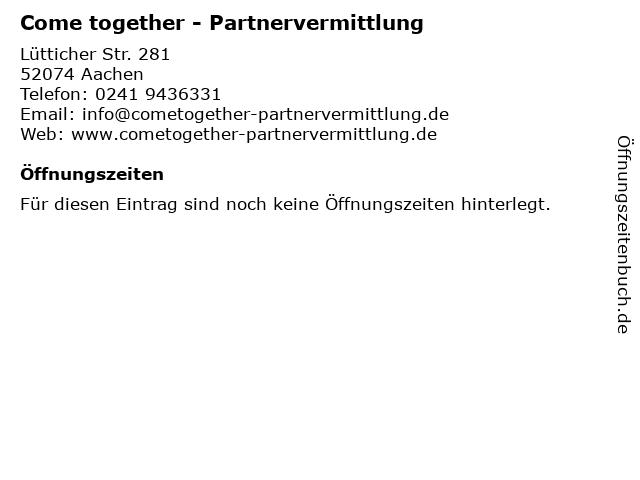 partnervermittlung aachen single haiterbach