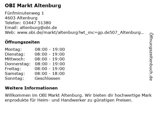 Obi altenburg