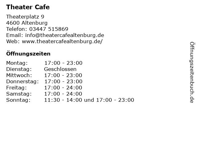 Steakhouse Altenburg in Altenburg: Adresse und Öffnungszeiten