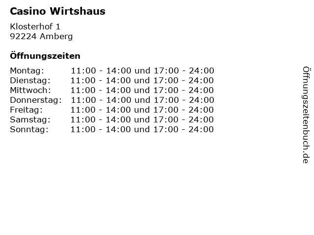 Casino Amberg Wirtshaus