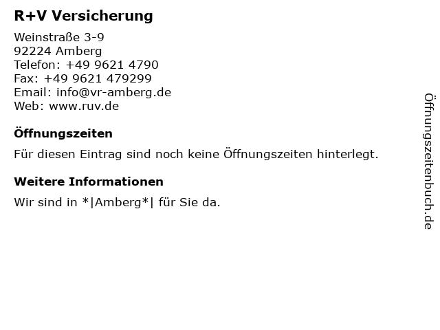 Volksbank-Raiffeisenbank Amberg eG (Geldautomat) in Amberg: Adresse und Öffnungszeiten