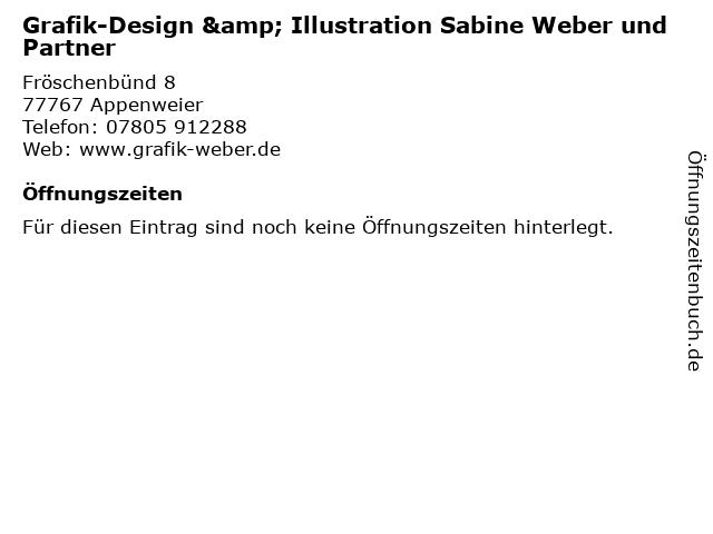 Grafik-Design & Illustration Sabine Weber und Partner in Appenweier: Adresse und Öffnungszeiten