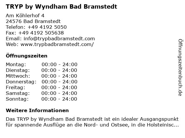TRYP by Wyndham Bad Bramstedt in Bad Bramstedt: Adresse und Öffnungszeiten