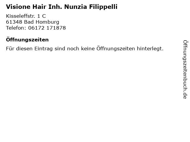 Visione Hair Inh. Nunzia Filippelli in Bad Homburg: Adresse und Öffnungszeiten