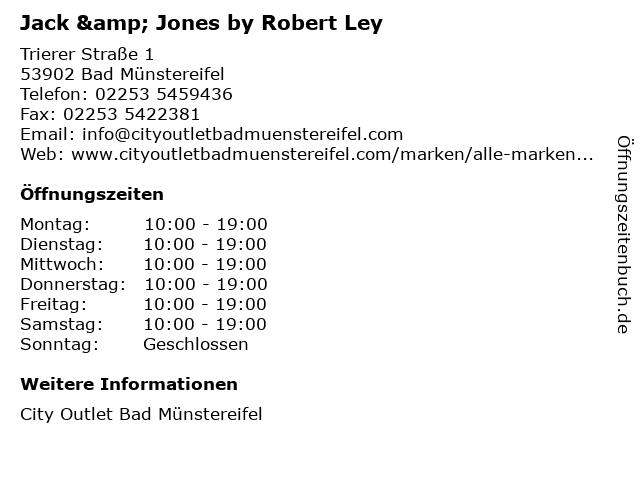 Jack & Jones by Robert Ley in Bad Münstereifel: Adresse und Öffnungszeiten