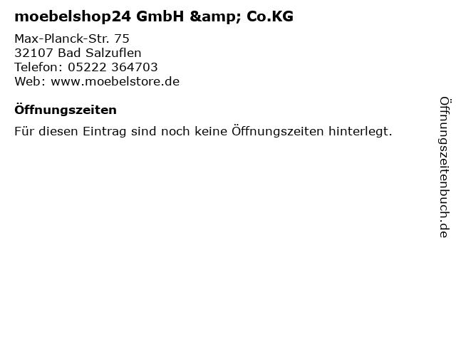 ᐅ öffnungszeiten Moebelshop24 Gmbh Cokg Max Planck Str 75