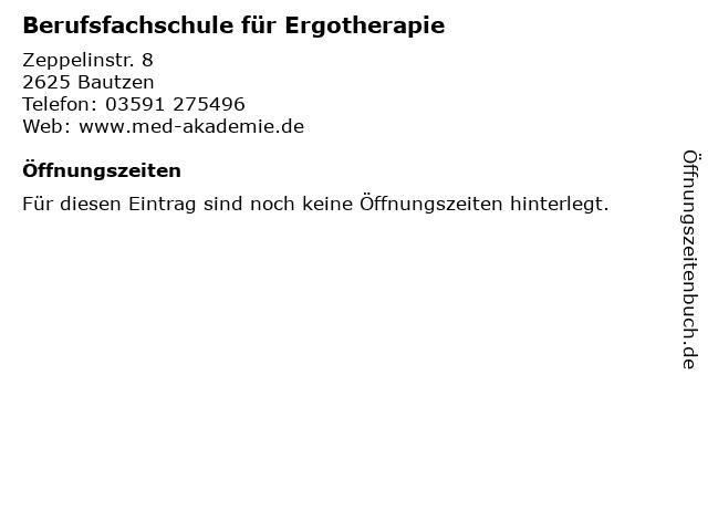 Berufsfachschule für Ergotherapie in Bautzen: Adresse und Öffnungszeiten