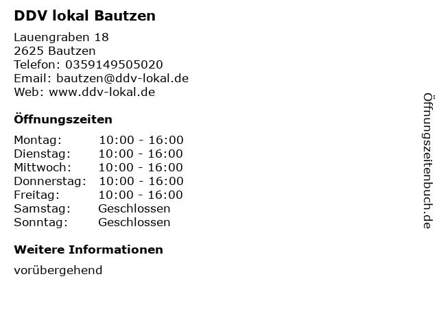 SZ-Treffpunkte und Servicepunkte in Bautzen: Adresse und Öffnungszeiten