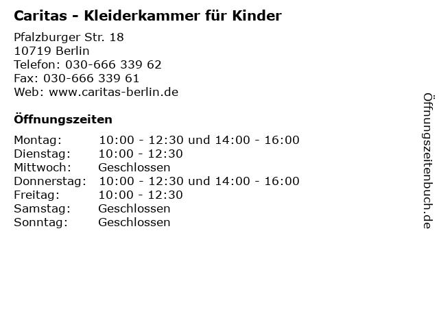 Kleiderkammer berlin charlottenburg wilmersdorf