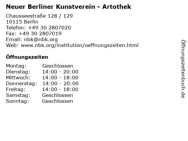 artothek berlin