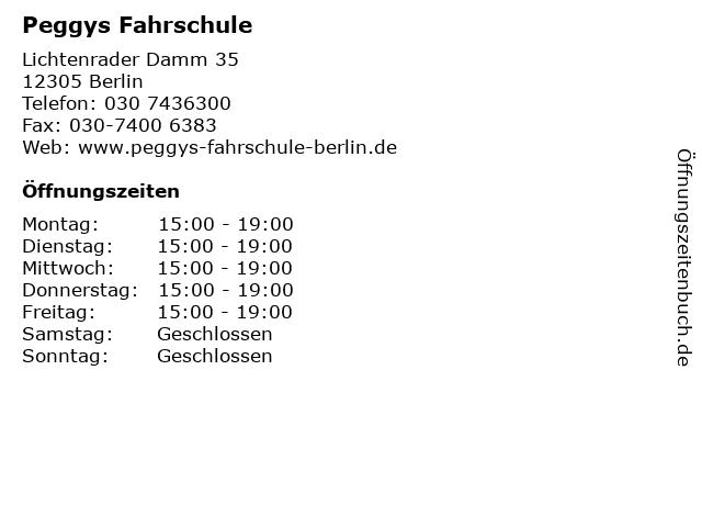 Fahrschule Kurth in Berlin: Adresse und Öffnungszeiten