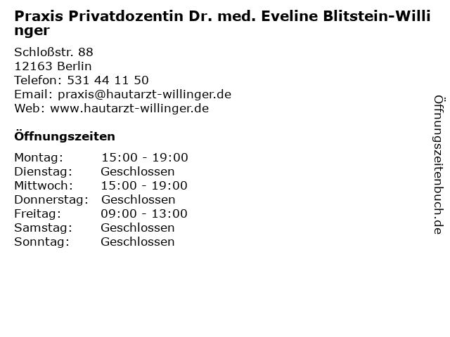 """best sneakers 488d8 aae29 ᐅ Öffnungszeiten """"Praxis Privatdozentin Dr. med. Eveline ..."""