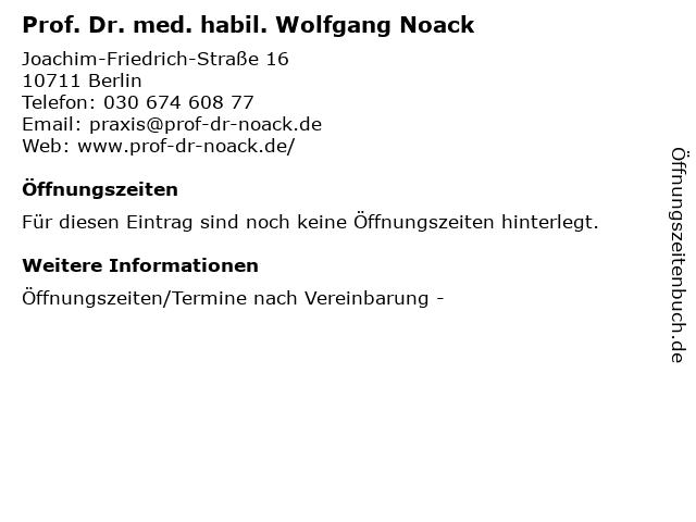 Dr boack berlin