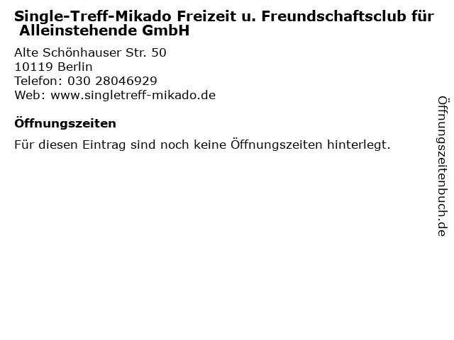 Single treffpunkt berlin