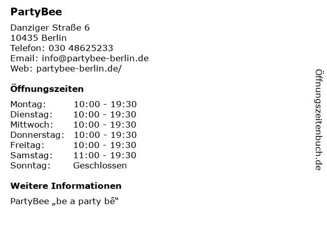 """Überraschungsparadies """"Alles für (d)eine Party"""" in Berlin: Adresse und Öffnungszeiten"""