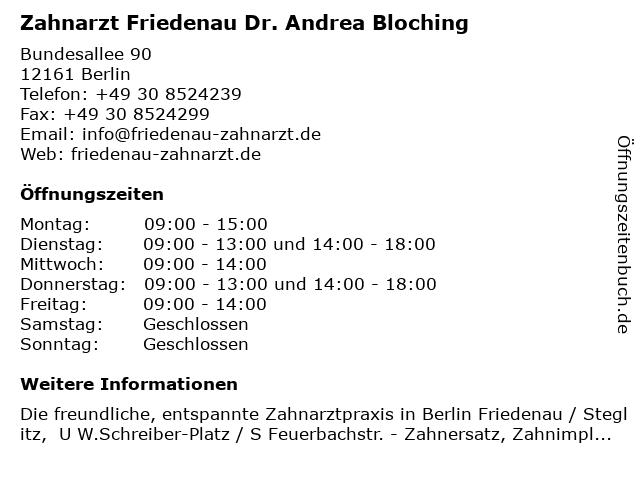 friedenau berlin zahnreinigung