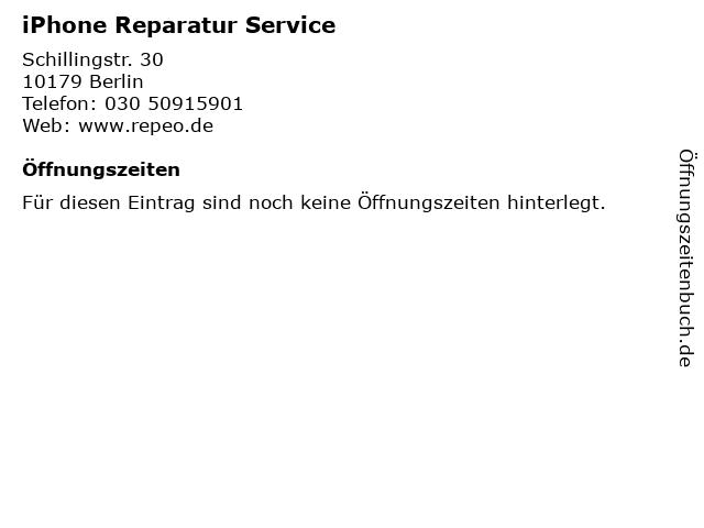 iPhone Reparatur Service in Berlin: Adresse und Öffnungszeiten