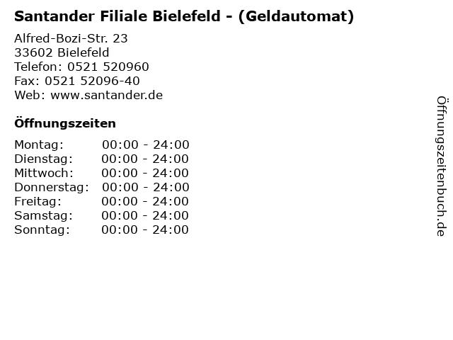 Santander Bielefeld