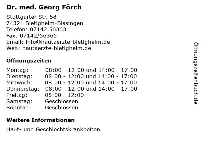 Dr Förch Bietigheim
