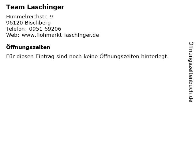 Team Laschinger in Bischberg: Adresse und Öffnungszeiten