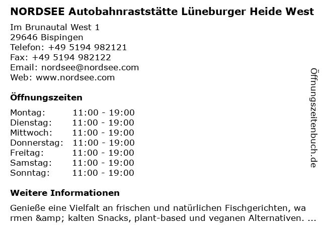 NORDSEE GmbH in Bispingen: Adresse und Öffnungszeiten