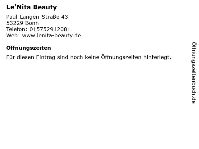 T&K Beauty in Bonn: Adresse und Öffnungszeiten