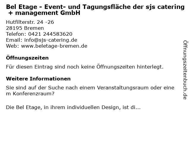 Brill - Belle Etage in Bremen: Adresse und Öffnungszeiten