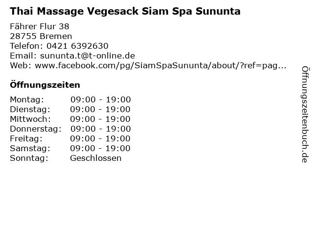 Thai massage bremen nord