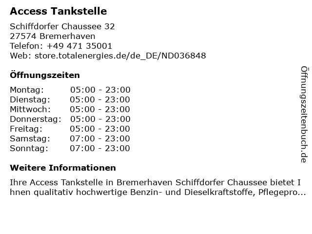 Elan-Tankstelle in Bremerhaven: Adresse und Öffnungszeiten