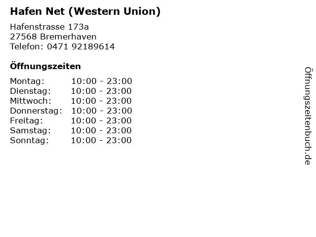 western union bremerhaven