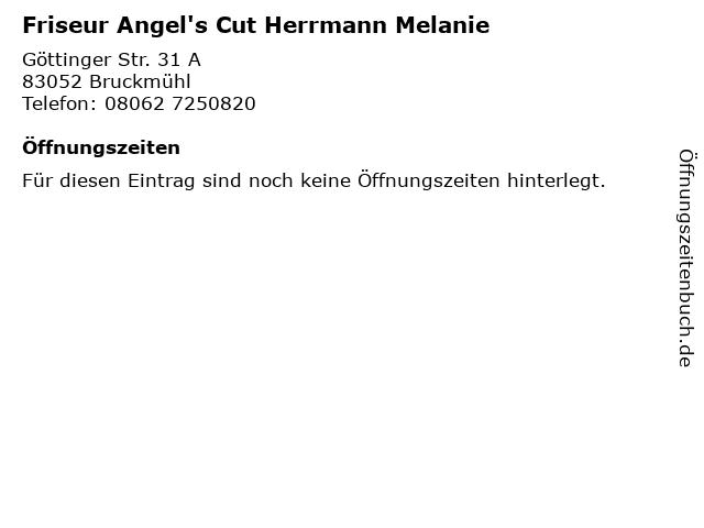 Friseur Angel's Cut Herrmann Melanie in Bruckmühl: Adresse und Öffnungszeiten