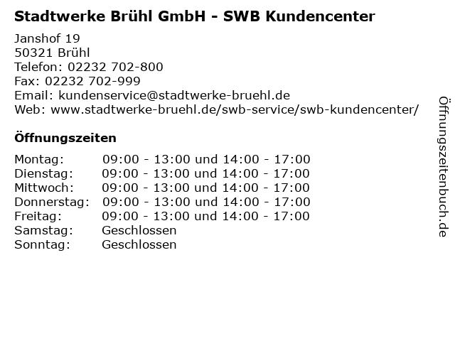 Swb Kundencenter Bonn