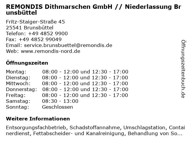 remondis brunsbüttel