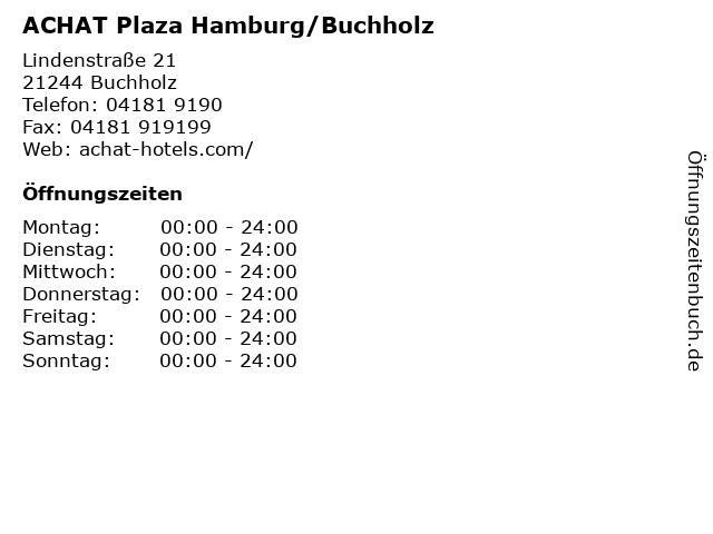 ACHAT Plaza Hamburg/Buchholz in Buchholz: Adresse und Öffnungszeiten