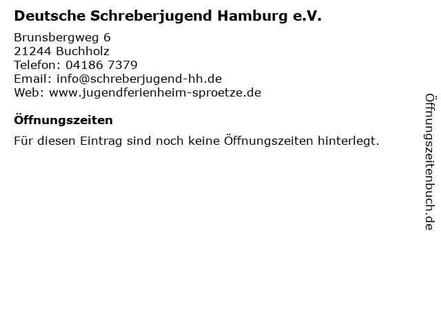 Deutsche Schreberjugend Hamburg e.V. in Buchholz: Adresse und Öffnungszeiten