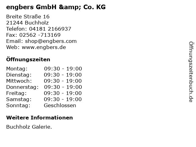 engbers GmbH & Co. KG in Buchholz: Adresse und Öffnungszeiten