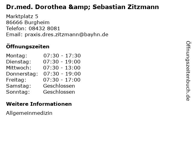Zitzmann Burgheim