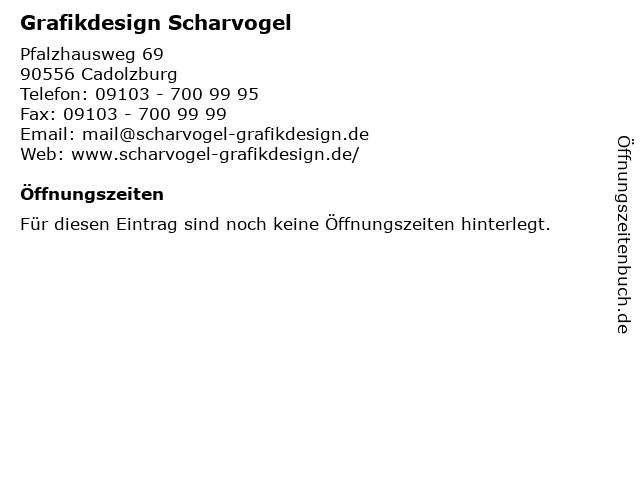 Grafikdesign Scharvogel in Cadolzburg: Adresse und Öffnungszeiten
