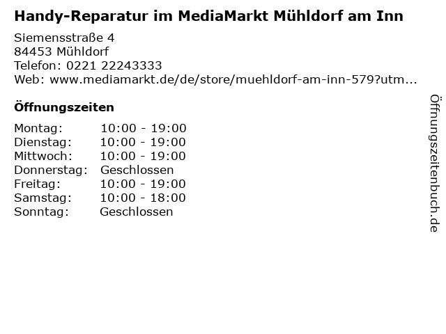 MediaMarkt in Castrop-Rauxel: Adresse und Öffnungszeiten