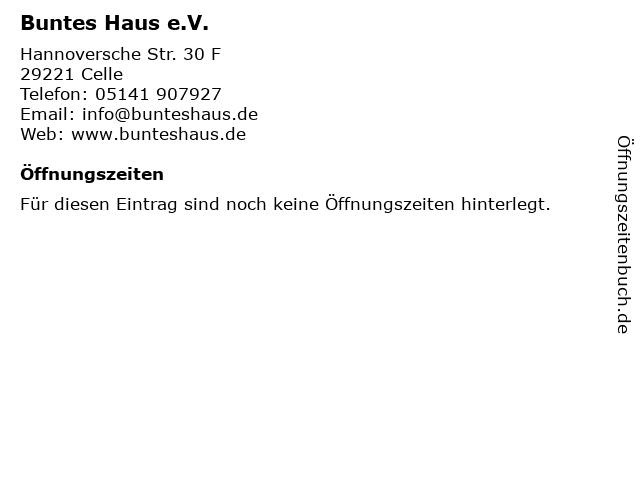 Buntes Haus e.V. in Celle: Adresse und Öffnungszeiten