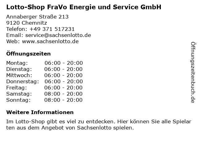 ESSO Deutschland GmbH in Chemnitz: Adresse und Öffnungszeiten