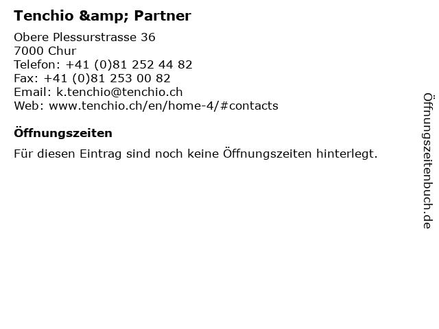 Tenchio & Partner in Chur: Adresse und Öffnungszeiten