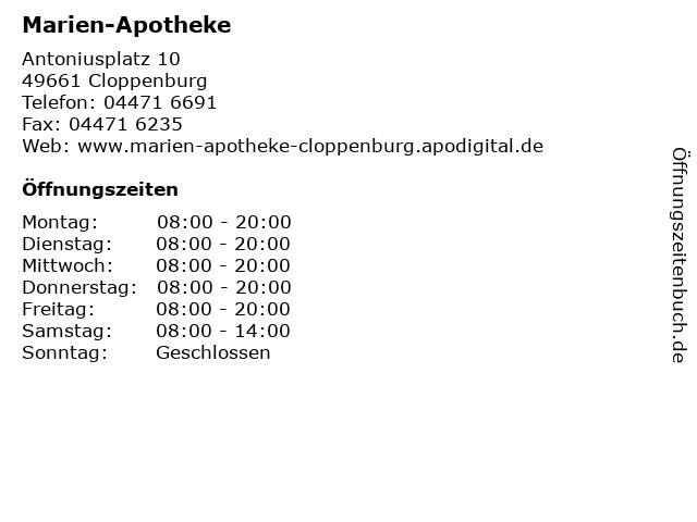 885071271aac8a Bilder zu Marien-Apotheke in Cloppenburg