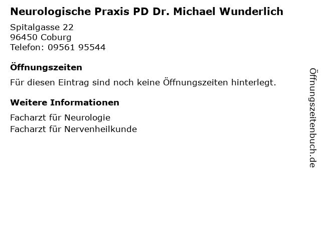 Dr Wunderlich Coburg