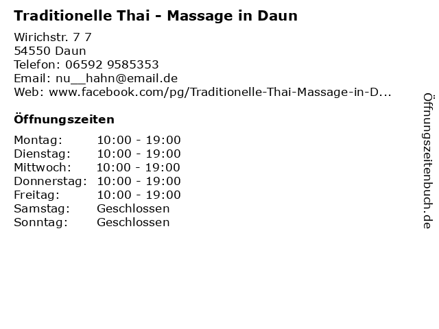 Thai massage owl